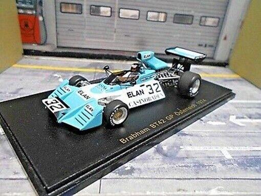 F1 Brabham bt42 Ford Cosworth Autriche Austria GP  32 koinigg Elan Spark 1  43