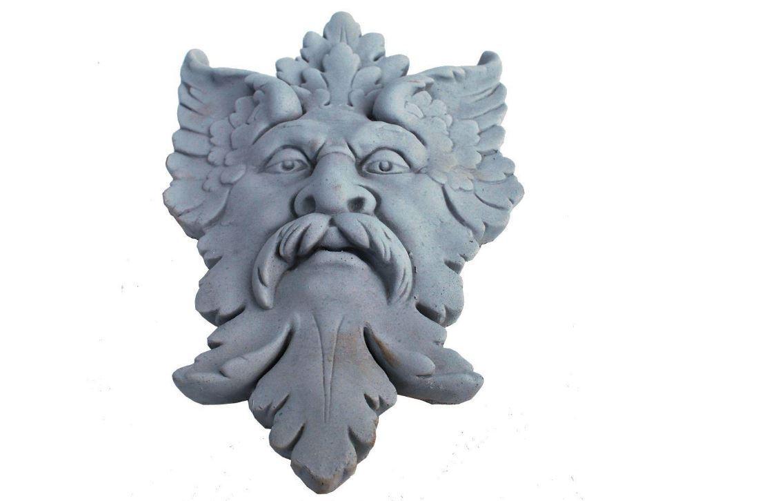 MásCochea de hojas de jardín piedra fundido Miguel Ángel placa Erosionado gris 12 Pulgadas Venta