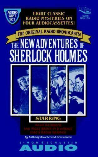new/sealed: The New Adventures of Sherlock Holmes [4 hrs, 4 cass, 9780671727024]