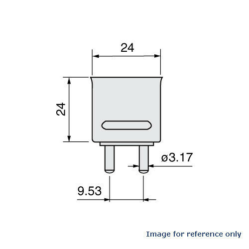 USHIO EHD 500W 120V EHD Bulb EHD 500 watts EHD500W EHD LAMP HALOGEN 120 VOLTS