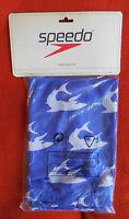 Speedo Sack Pack Shark Chameleon Wet Kit Color Blue/silver Brand