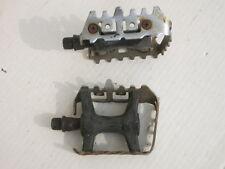 Set di pedali sull'acciaio/plastica 65 x 95 mm (sinistra + destra)