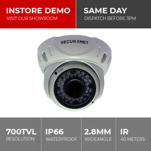 Securenet-CCTV-Security-Night-Vision-Colour-Dome-Bullet-Camera-420-480-700TVL