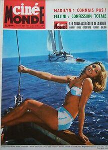 Cinema-Walmee-Elke-Sommer-Fellini-Godard-Dalida-Brandon-N-1565-Kodak-1964