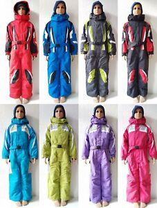 heiße Angebote berühmte Designermarke Neueste Mode Details zu Winteranzug Schneeanzug Gr.116- 140Skianzug Schneeoverall Kinder  Jungen Mädchen