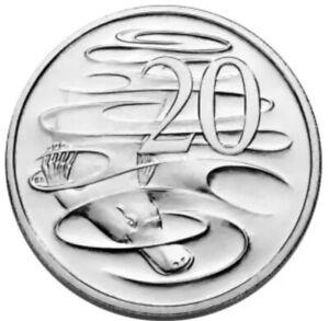 Uncirculated in 2 x 2 Holder Ex Mint Set 2006 Australia Twenty 20c Cent Coin