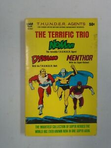 THUNDER-Agents-The-Terrific-Trio-1-Paperback-5-0-VG-FN-1966-Tower-Books