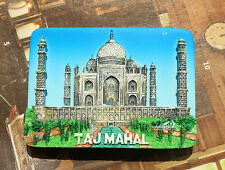 India TAJMAHAL Tourist Travel Souvenir 3D Resin Fridge Magnet Craft GIFT