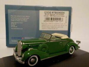 Model-Car-Buick-Special-1936-Green-1-76-New