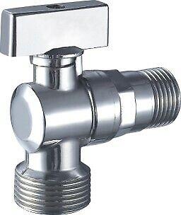 """rubinetto a sfera per lavatrice gr. 1/2"""" x 3/4"""" 90° carico lavastoviglie"""