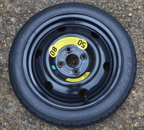 "Genuine Hyundai i10 i20 Kia Rio 2013-2020 15/"" espacio Saver Neumático de la rueda de repuesto #22"