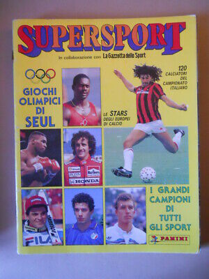 Figurina-Sticker n CALCIATORI SUPERSPORT 1988-89 Panini MARRONARO BOLOGNA 17