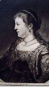 Rembrandt-Heliogravure-on-Japon-etching-France-1800-s-8-9x12-Portrait-of-woman