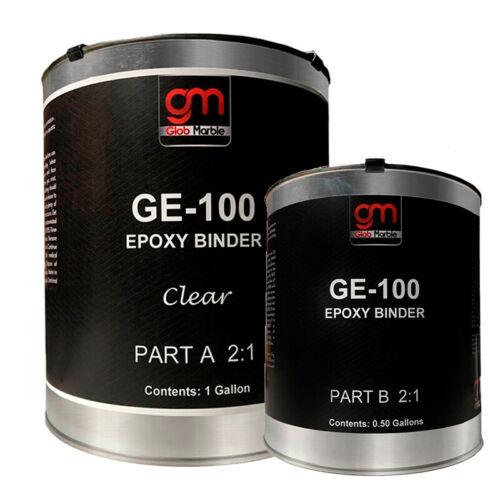 Epoxy Floor Coating.100/% Solids Clear Epoxy GE-100 Garage /& Basement Epoxy Resin