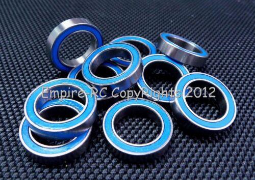 BLUE 12x18x4 mm Rubber Sealed PRECISION Ball Bearing 6701-2RS 25 PCS