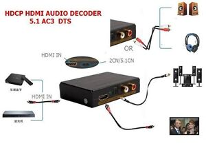 HDMI-Audio-Extractor-Digital-to-Analog-L-R-RCA-or-Optical-Converter-De-Embedder
