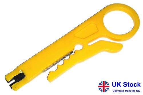 Cable stripper IDC punch down tool BT Telephone RJ45 LAN network IDC insertion