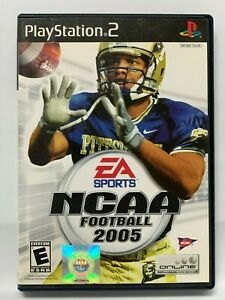 NCAA-Football-2005-Complete-w-Manual-Sony-PlayStation-2-PS2-Larry-Fitzgerald