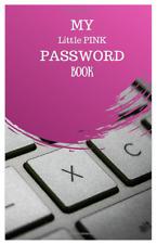 Password Organizer Website Journal Internet Online Log Book Little Pink Book