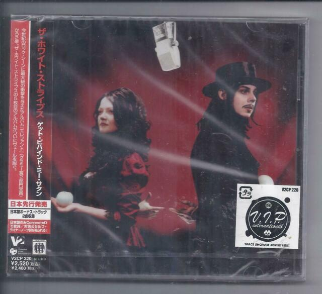 The WHITE STRIPES Get Behind Me Satan JAPAN CD V2CP 220 sealed NEW