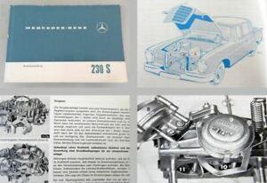 Mercedes-Benz-230S-W111-Betriebsanleitung-1967-Bedienung-Wartung-Grosse-Flosse
