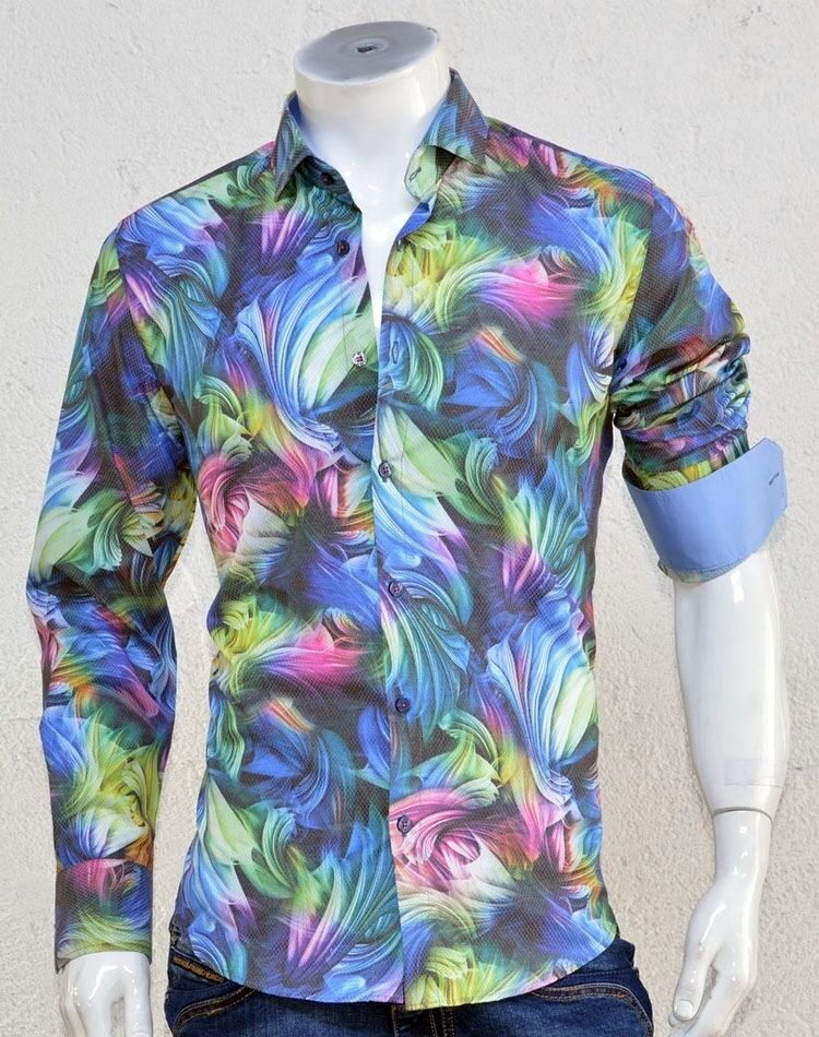 NEW   Fashion Dress Shirt - Mondo Exclusive G7334 in Größe  XL