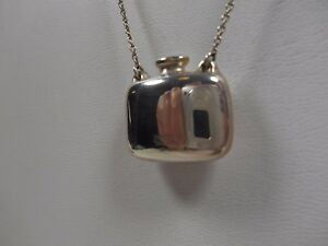 Tiffany-amp-Co-Elsa-Peretti-Perfume-Bottle-Necklace-25-034-Sterling-Silver-Vintage