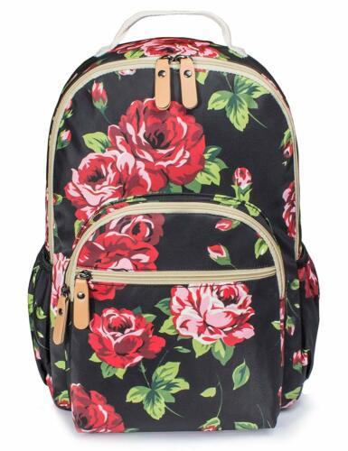 Women/'s Floral Laptop Travel School College Backpack Bag Bookbags for Girls