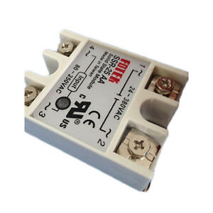 Solid State Relay Module SSR-25AA 25A 80-280V AC Input 24-380V AC Output 000047