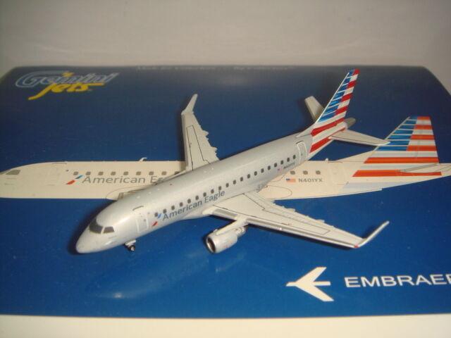 suministro de productos de calidad Gemini Gemini Gemini Jets 400 American Eagle Embraer ERJ-170-200LR  2010s Nuevo Color  1 400  marca famosa