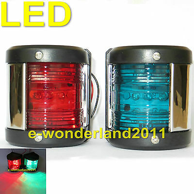 MARINE BOAT RED PORTSIDE LED NAVIGATION LIGHT