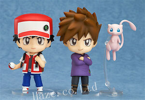 Pokemon-Ash-Ketchum-Gary-Oak-Nendoroid-PVC-Figure-Anime-Collection-Present