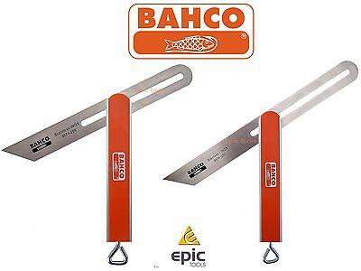 """HULTAFORS 200mm 8/"""" Aluminium Sliding Bevel Locking Stainless Steel Blade SMV20"""