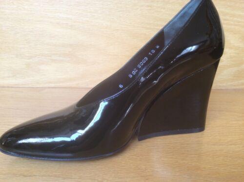 robert Clergerie shoes black size 6, wedges Franc