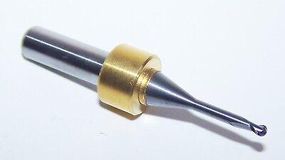 """.1181/"""" Xtra long reach 6mm shank CARBIDE 2 FLUTE ENDMILLS 3.0mm BALL END"""