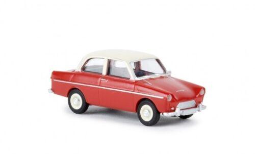 1//87 Brekina DAF 600 rojo//Marfil 27703