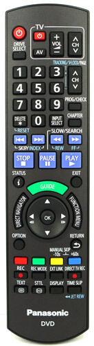 Panasonic DMR-EZ49VEBK Genuine Original Remote Control