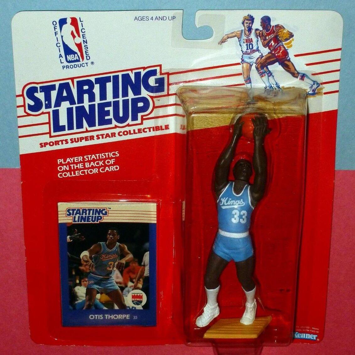 1988 OTIS THORPE Sacramento Kings Rookie  FREE s h  sole Starting Lineup rare