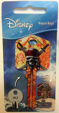 Disney Pirates of the Caribbean Blank Key fits Yale 1A/U6D/UL2 Skull cross bones