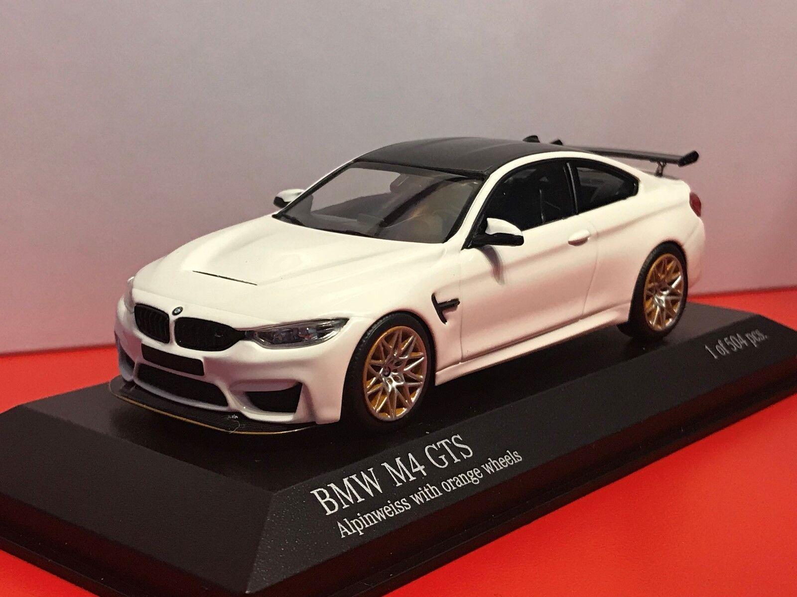 BMWM4 GTS 2016 1 43 Minichamps neu & OVP 410025226