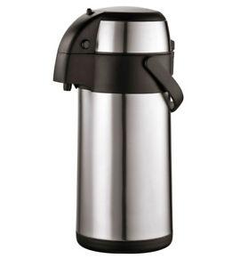 Airpot 3l Edelstahl Pumpkanne Isolierkanne Thermoskanne Kaffeekanne