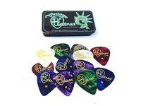 D'andrea Guitar Picks Designer Series Pick Tin 12 Picks Celluloid Medium