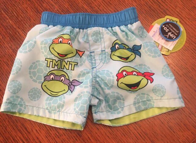 de83b4ba30 Teenage Mutant Ninja Turtles Baby Boy Swim Trunks 6-9 Months New With Tags