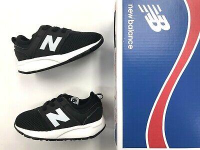 Kids New Balance 247 MESH Black White running shoes infant/toddler/boys sizes. | eBay