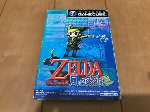 Legend-of-Zelda-The-Wind-Waker-Japan-Gamecube-Nintendo-GC-with-Box-manual