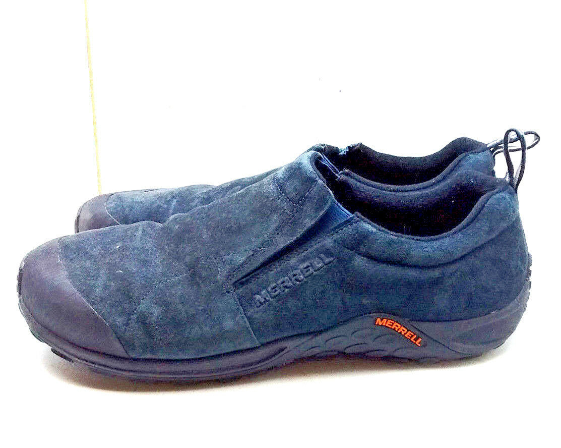 Merrell Total Eclipse Men's bluee Leather Sports Loafers Hiking shoes Size 14M 49
