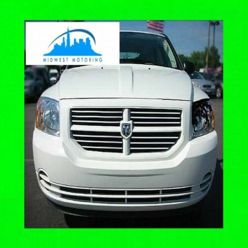 2007-2013 DODGE CALIBER CHROME TRIM FOR GRILL GRILLE W//5YR WARRANTY