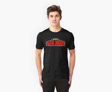 PIZZA PAPA JOHNS EL JEFE CUBANOS TACO BLACK T-Shirt S-2XL. WHITE Ready.arx