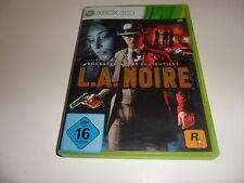 XBOX 360 L. A. Noire (Uncut)