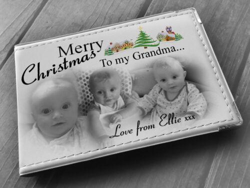 Anniversaire Cadeau Grand-mère Personalised album photo Joyeux Noël memroy Livre
